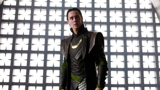 Tom Hiddleston come Loki in Thor