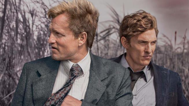 Woody Harrelson e Matthew McConaughey nella prima stagione di True Detective