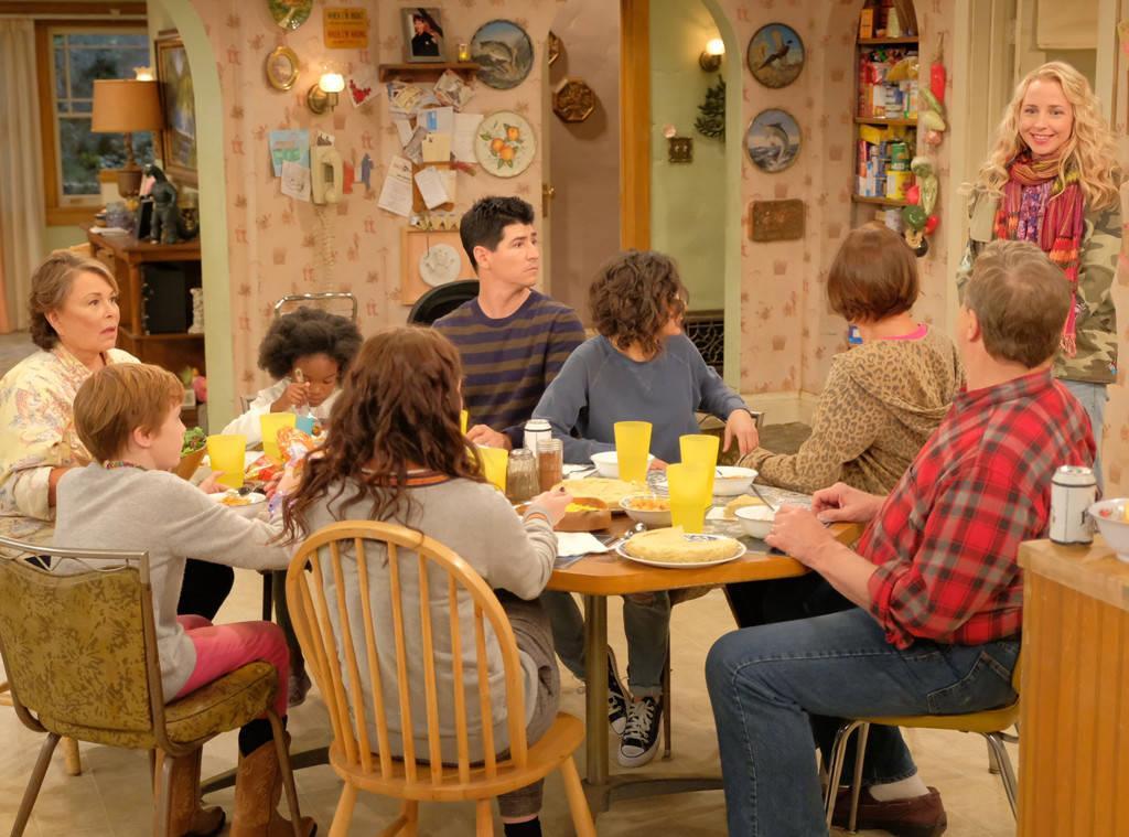 La cena intorno al tavolo in Pappa e Ciccia