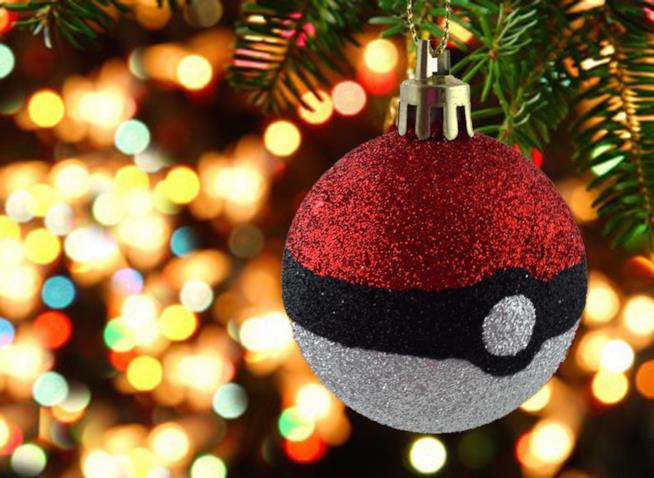 Una bellissima cartolina natalizia a tema Pokémon