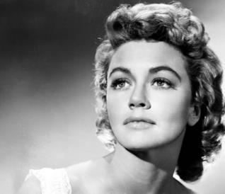 L'attrice Dorothy Malone