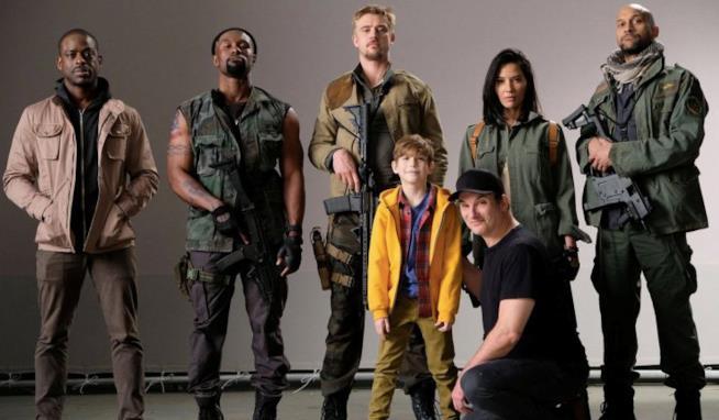 Il cast di Predator