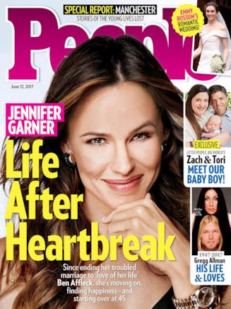 Jennifer Garner e la copertina incriminata di People