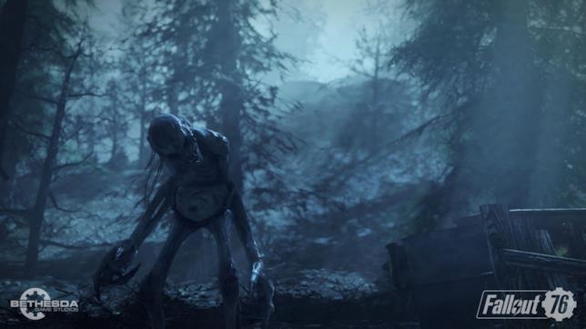 Una delle creature di Fallout 76