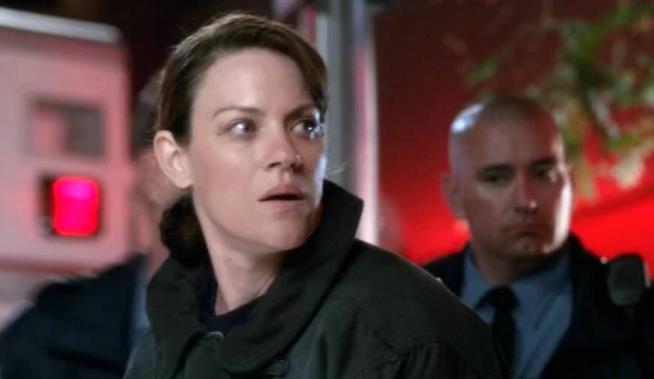 L'agente Carroll interpretato da Stephanie Czajkowski