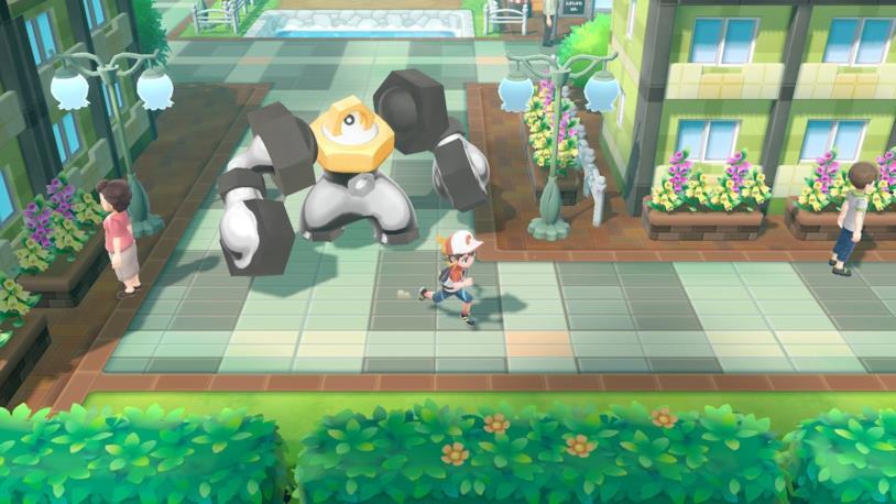 Melmetal in Pokémon Let's Go Pikachu e Eevee