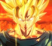 Goku in una frame del videogioco