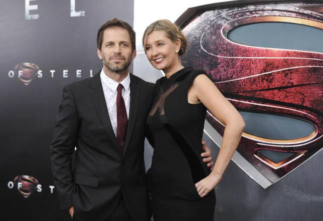 Il regista Zack Snyder assieme alla moglie Deborah, produttrice