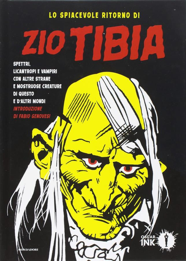 La copertina di Lo spiacevole ritorno di Zio Tibia