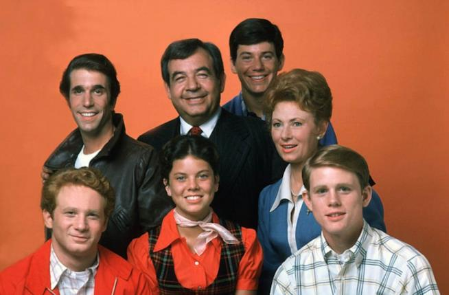 Il cast di Happy Days