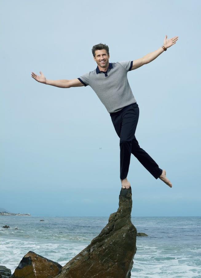 Patrick Dempsey: da dottore a equilibrista