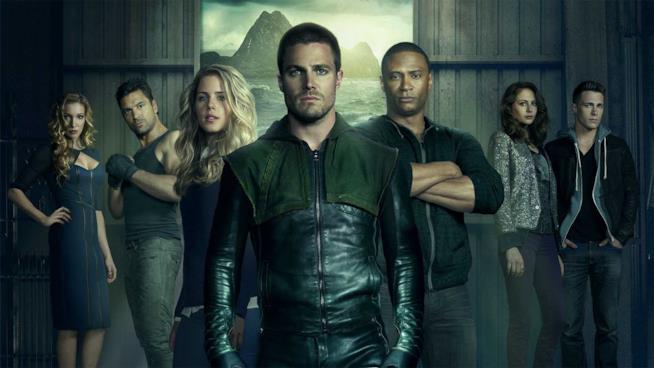 Il cast di Arrow