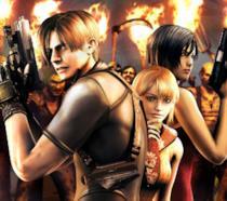 Leon S. Kennedy e Ada Wong in Resident Evil 4