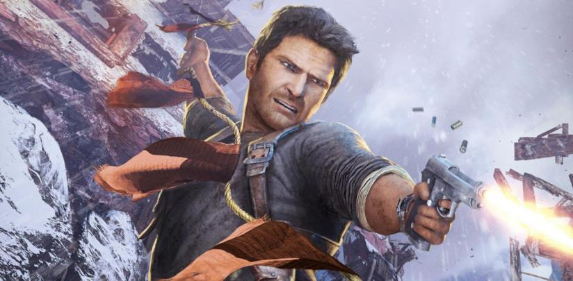 Nathan Drake in Uncharted 2