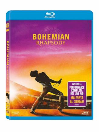 Il formato Blu-ray di Bohemian Rhapsody