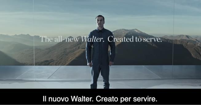 Ecco la presentazione di Walter di Alien: Covenant