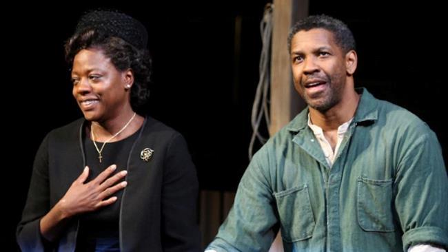 Una scena dello spettacolo teatrale Fences