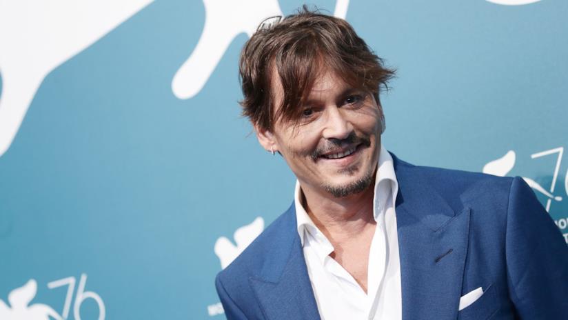 Johnny Depp a Venezia 76