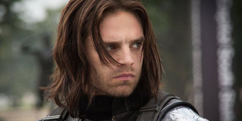 Sebastian Stan nei panni di Winter Soldier