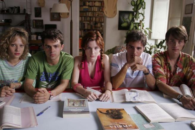 il cast di Notte prima degli esami
