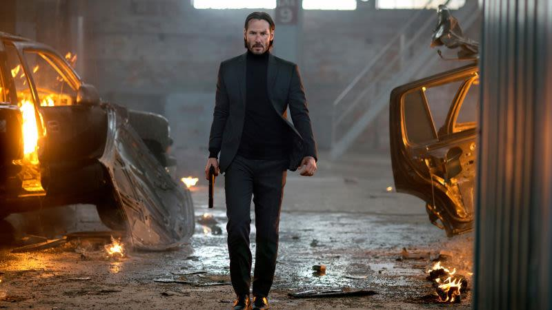 Keanu Reeves nei panni d John Wick