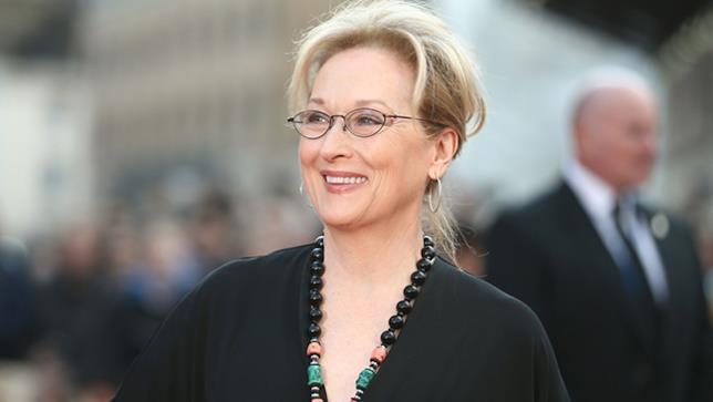 Primo piano di Meryl Streep