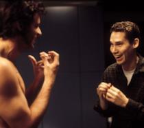 Hugh Jackman e Bryan Singer scherzano sul set di X-Men