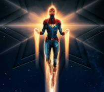 Poster di Captain Marvel per i cinema ODEON