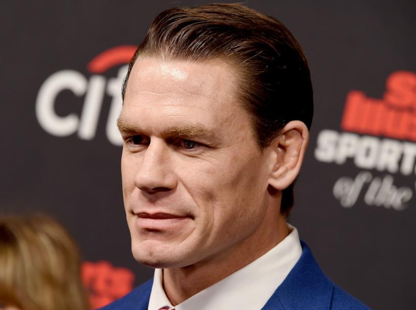 Primo piano di John Cena