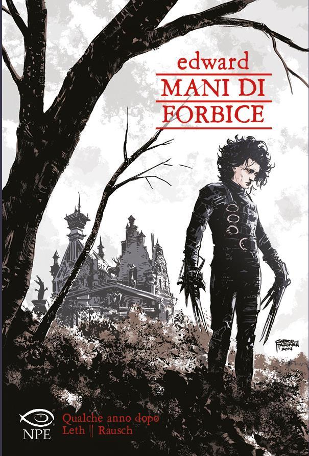 Edward mani di forbice in versione fumetto