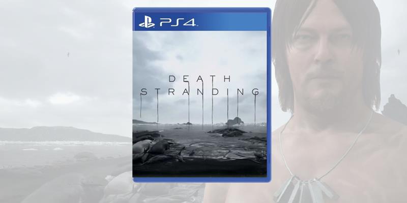 La boxart momentanea di Death Stranding