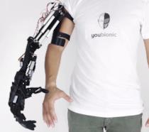 Il braccio robotico in 3D