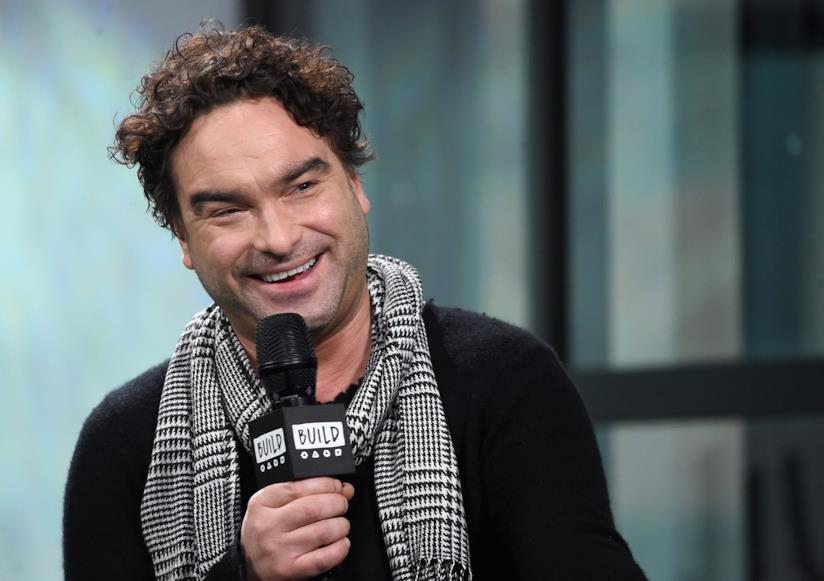 Johnny Galecki in primo piano