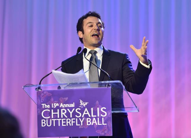 Fred Savage al Chrysalis Butterfly Ball