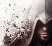 Un primo piano di Ezio Auditore