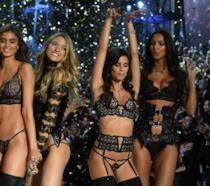 La gallery degli Angeli al Victoria's Secret Fashion Show