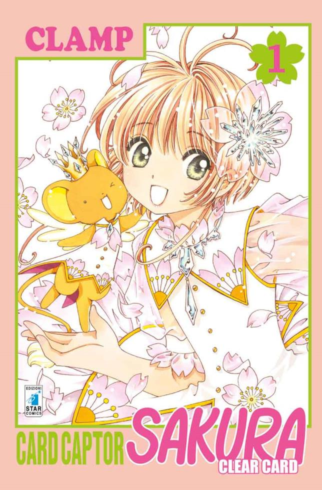 La copertina di Card Captor Sakura Clear Card