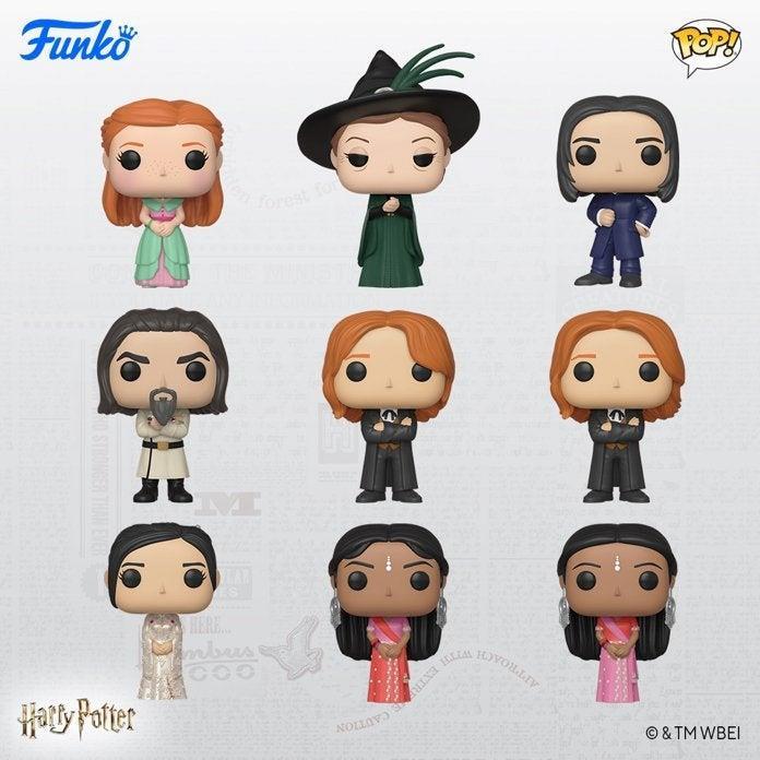 I nuovi personaggi Funko dedicati al Ballo del Ceppo di Harry Potter