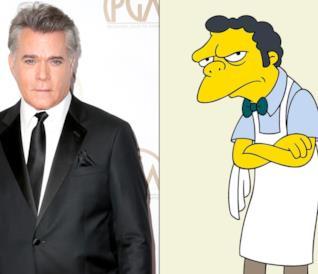 Ray Liotta e Boe Szyslak saranno padre e figlio in un episodio dei Simpson