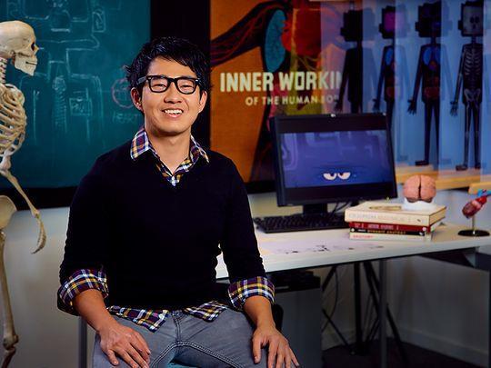Leo Matsuda nello studio d'animazione