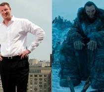 Neil Fingleton e il suo personaggio in Game of Thrones