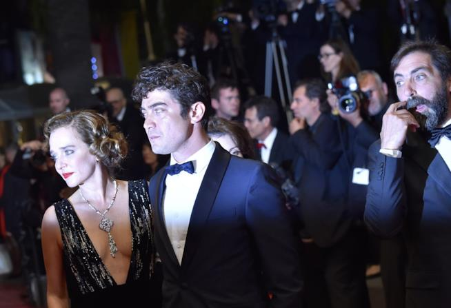 Riccardo Scamarcio e Valeria Golino sul red carpet di Cannes