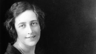Agatha Christie in una foto di gioventù