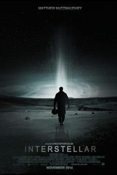 Cooper nella locandina del film Interstellar
