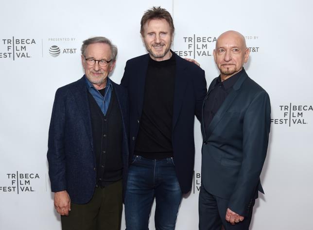 Liam Neeson alla reunion di Schindler's List