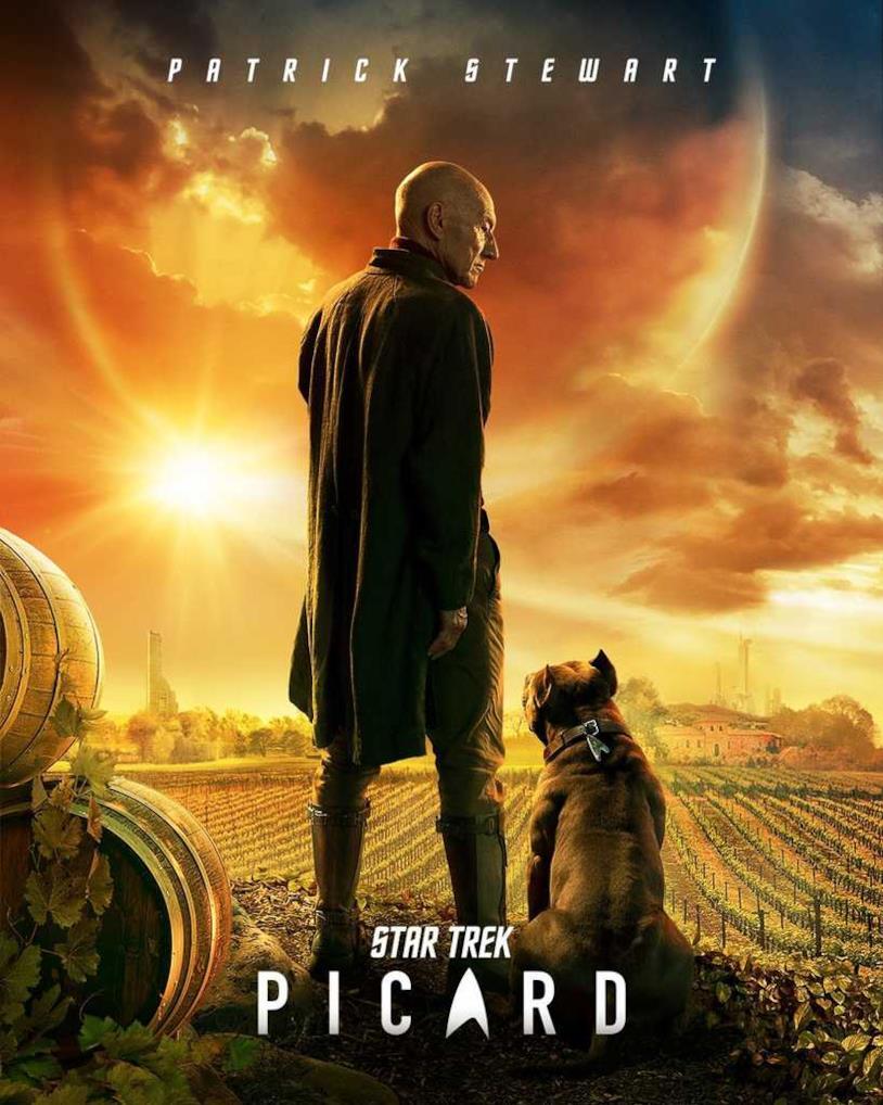 Star Trek: Picard, il nuovo poster della serie
