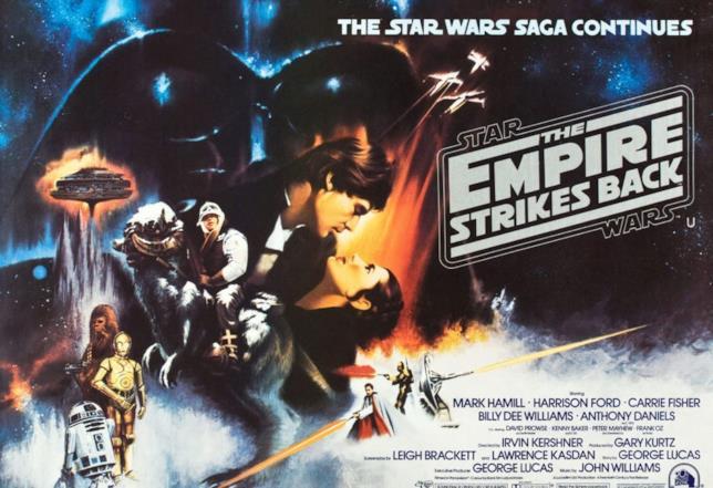 Locandina originale di Star Wars V