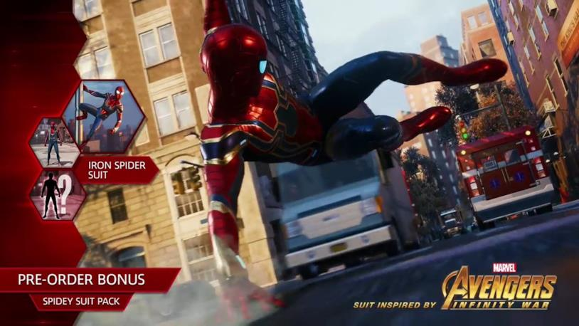 Il secondo costume pre-order di Spider-Man è l'Iron-Spider