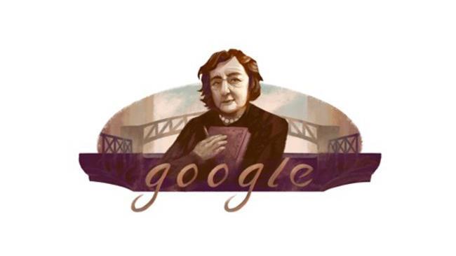 Il Goodle Doodle di Alda Merini ritrae la celebre poetessa italiana