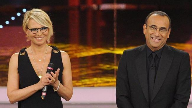 Sanremo 2017, Maria De Filippi e Carlo Conti